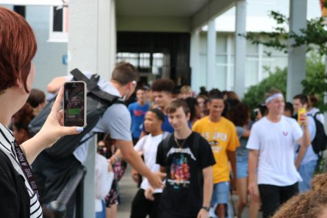 TV Production Completes First LipDub of the School Year