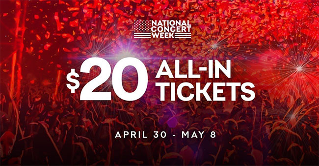 Live+Nation+announces+%2420+concert+tickets+for+the+week+of+4%2F30-5%2F8