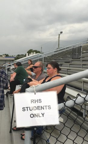 Parents, get out of our section