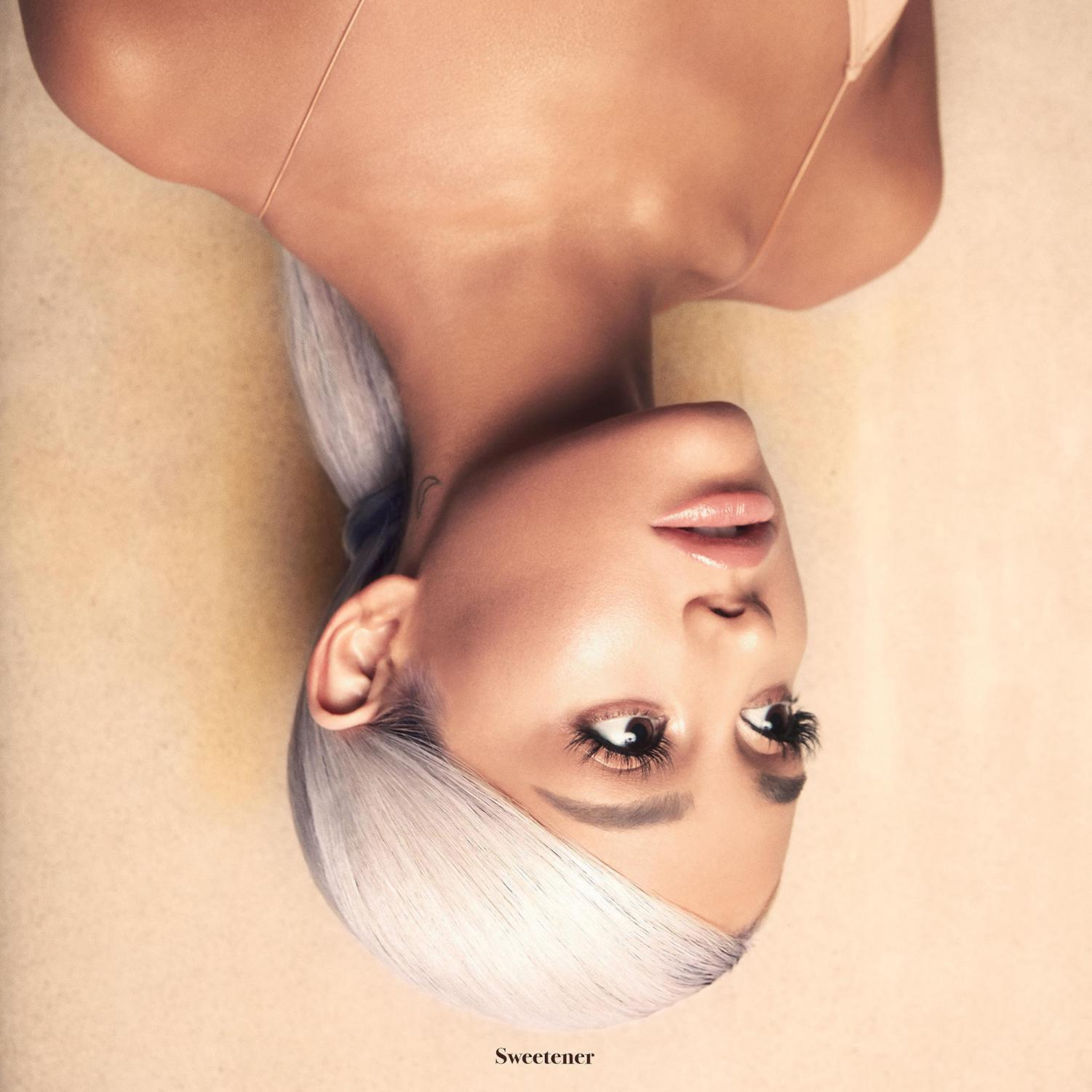 Ariana Grande's cover for her fourth album, Sweetener