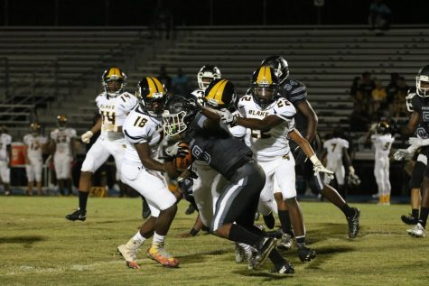 Knights shut out Middleton 17-0 in homecoming game