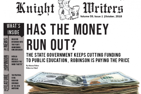 RHS Knight Writers Vol. 59 Issue 1 out now