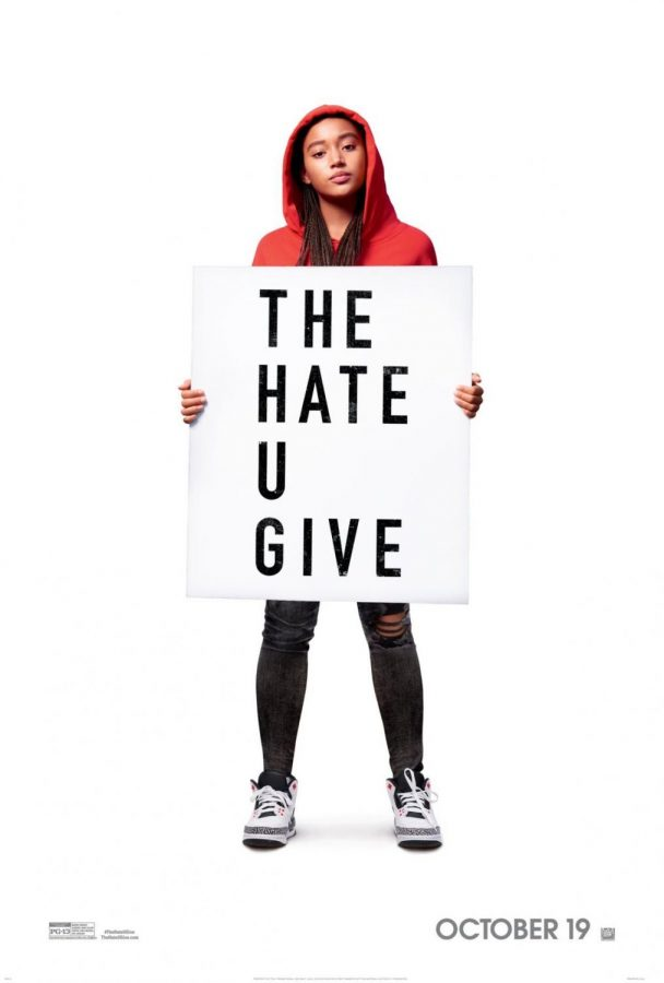The Hate U Give's theatrical release poster