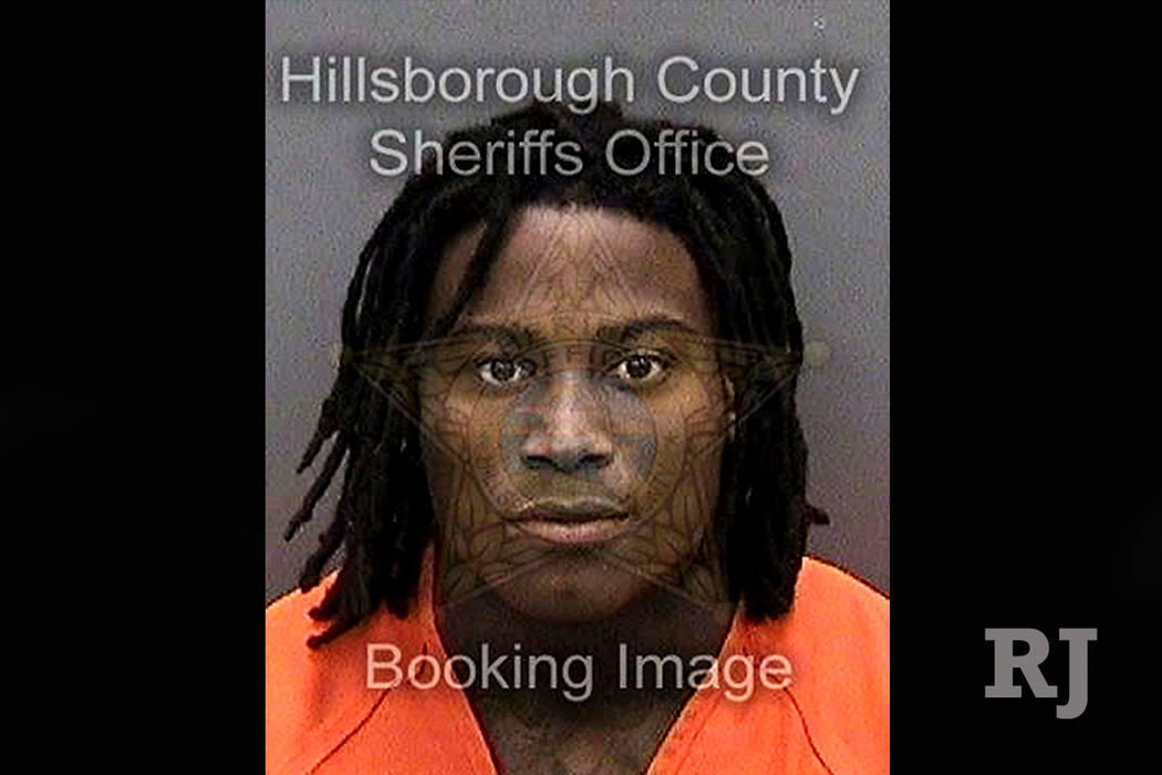 Reuben Foster's mugshot was taken this past Saturday following charges of domestic violence. He posted bail a day later.