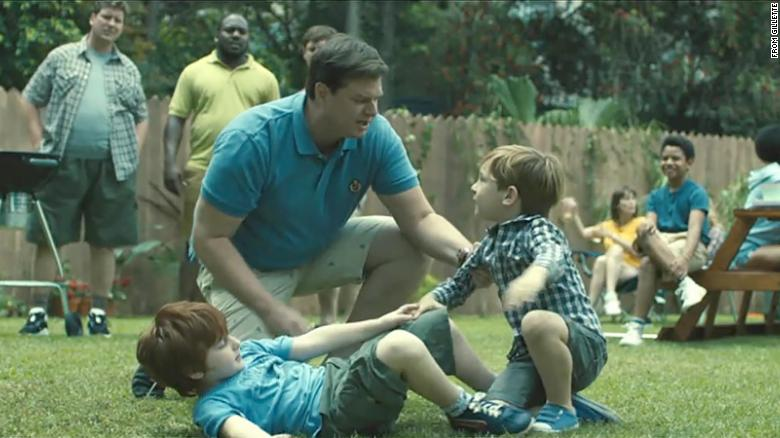 A still from the Gillette commercial. The razor company  Gillette recently put out a controversial commercial that tackled various aspects of toxic masculinity, such as sexual harassment and violence at a young age