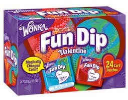 Fun Dip, the best of all Valentines Day candies