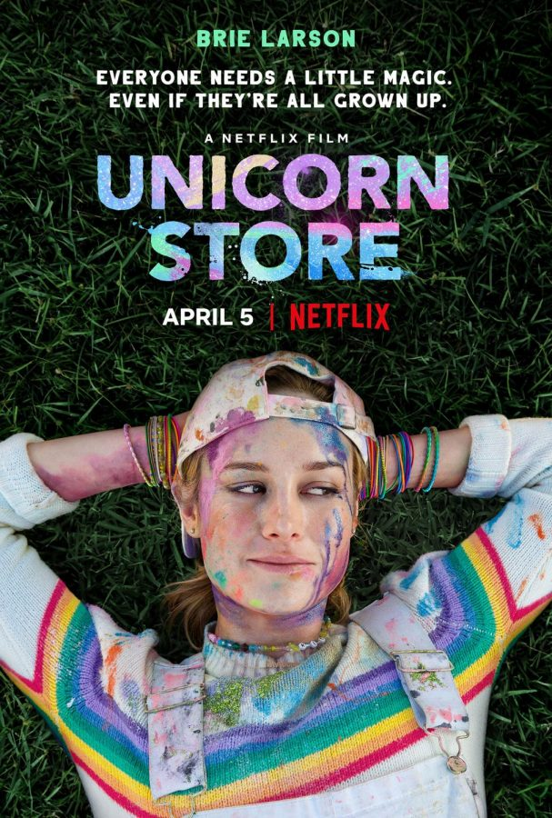 The+promotional+poster+for+%22Unicorn+Store%22