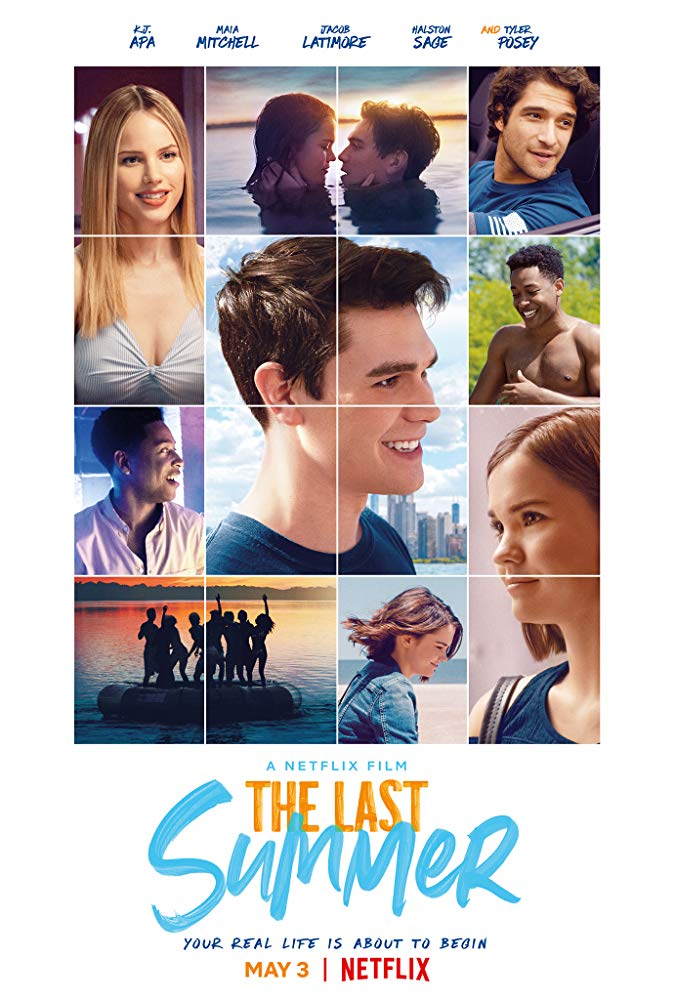 The movie poster for The Last Summer.
