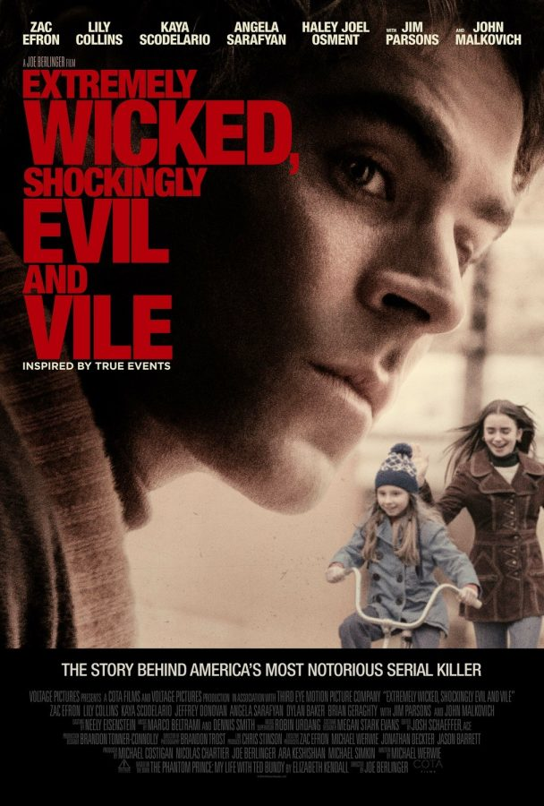 Zac Efron as Ted Bundy in the film Extremely Wicked, Shockingly Evil, and Vile