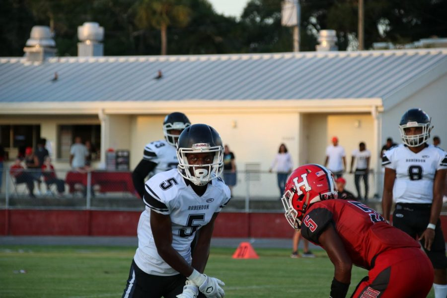 Knights fall 45-6 to Hillsborough in season opener