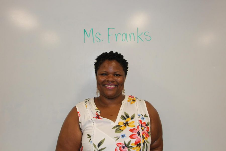 Robinson's new chemistry teacher Teaonne Franks.