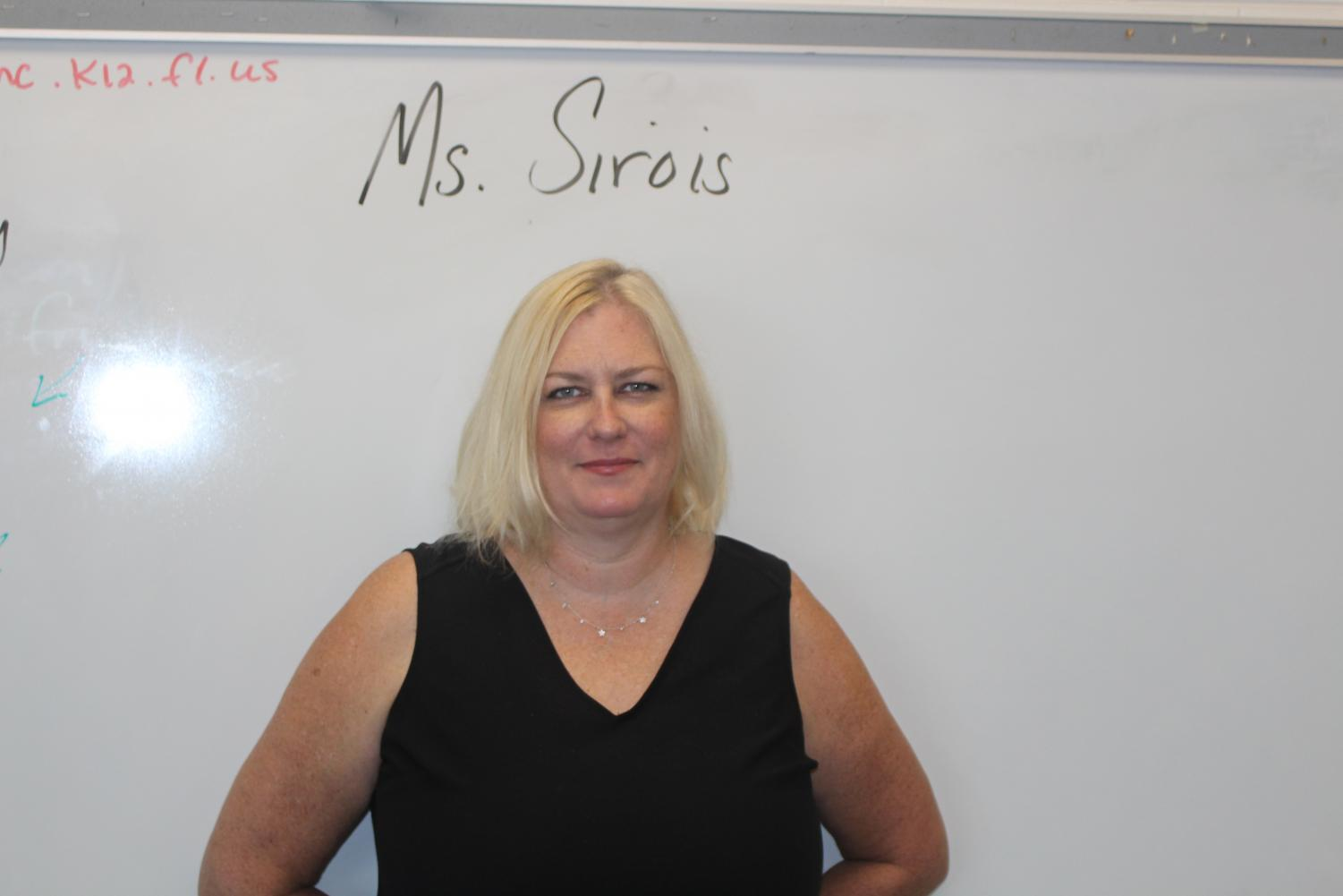 Ms. Sirois, the new FSA Prep teacher, has taught for 12 years.