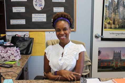 Welcome Ms. Thompson!