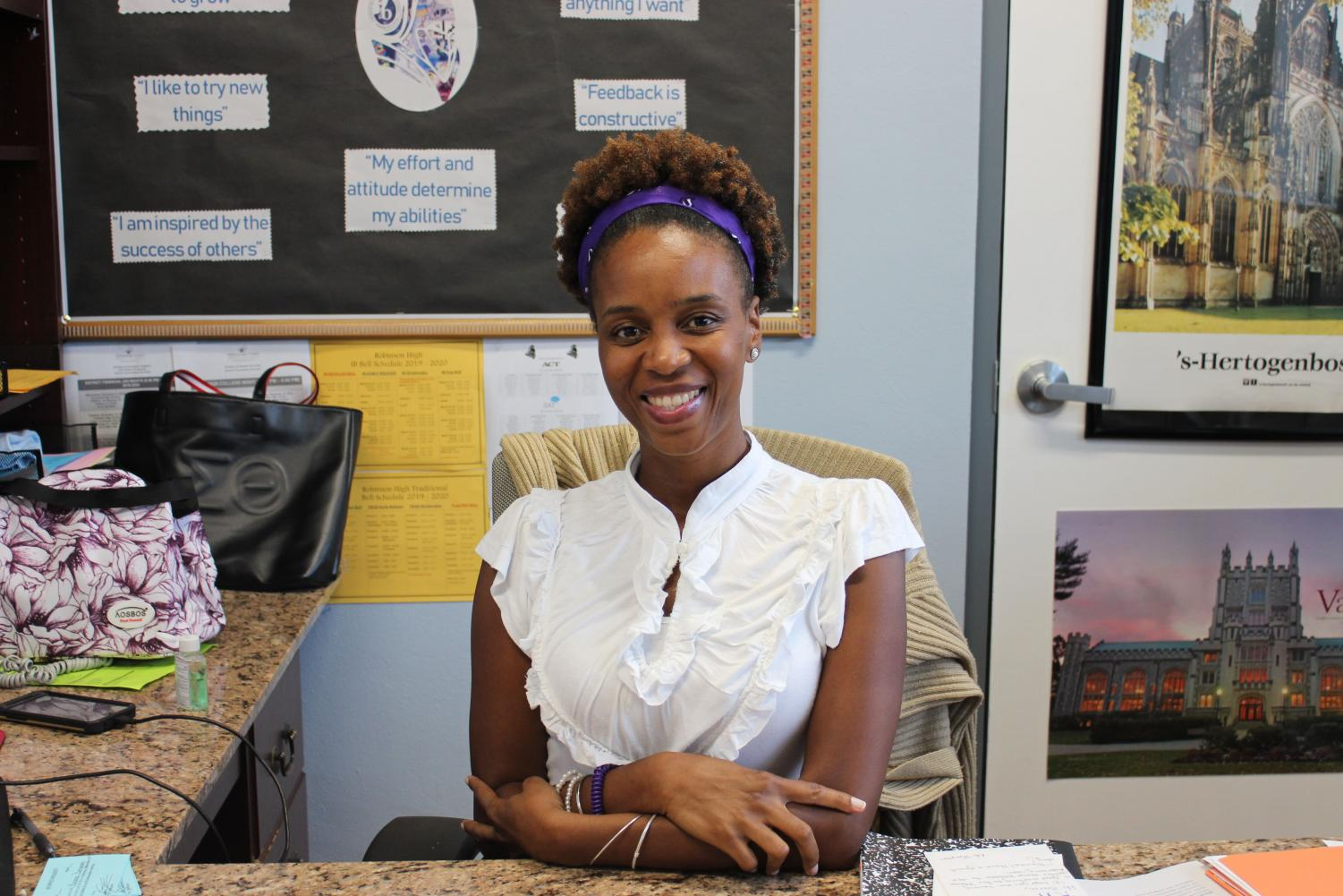Robinson's new IB counselor
