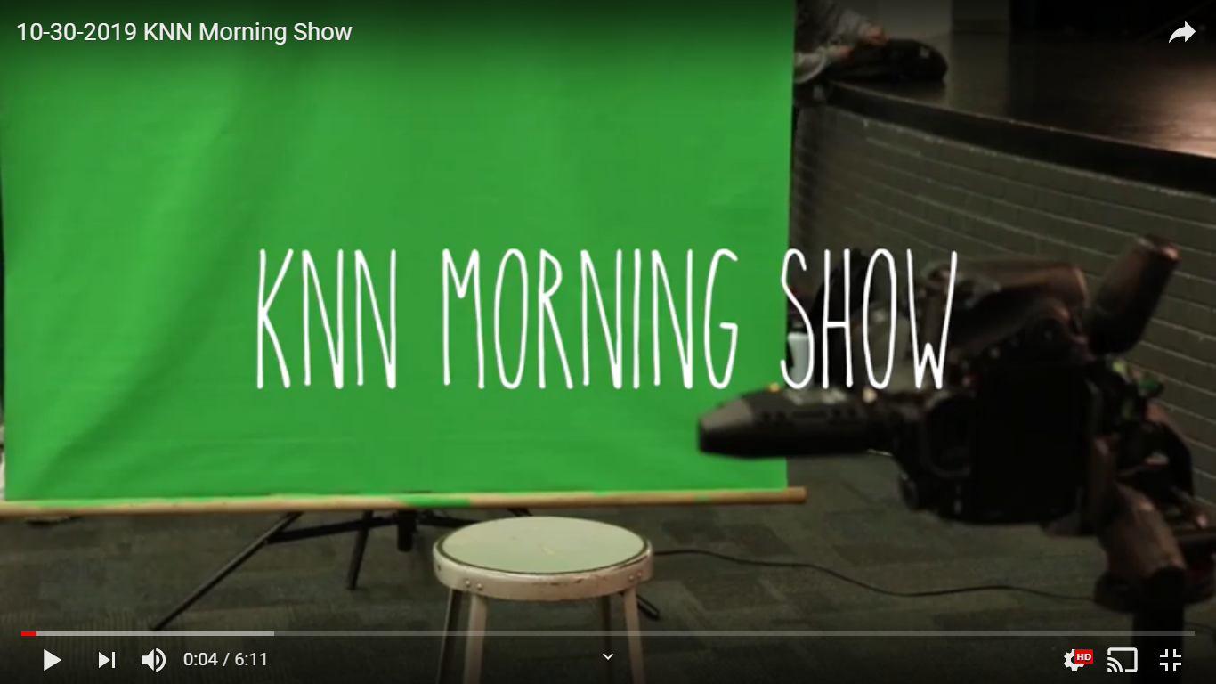 The KNN morning show intro from their October 30 segment