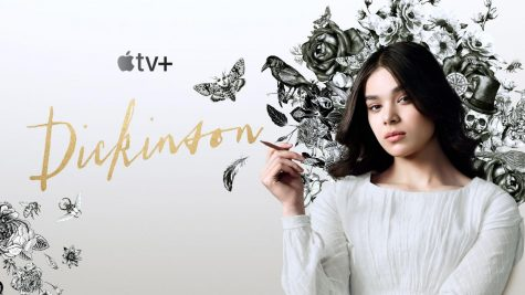 The poster for Dickinson, featuring Hailee Steinfeld as the titular character Emily Dickinson.