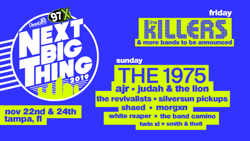 A+promotional+poster+showcasing+the+bands+for+Next+Big+Thing+2019.