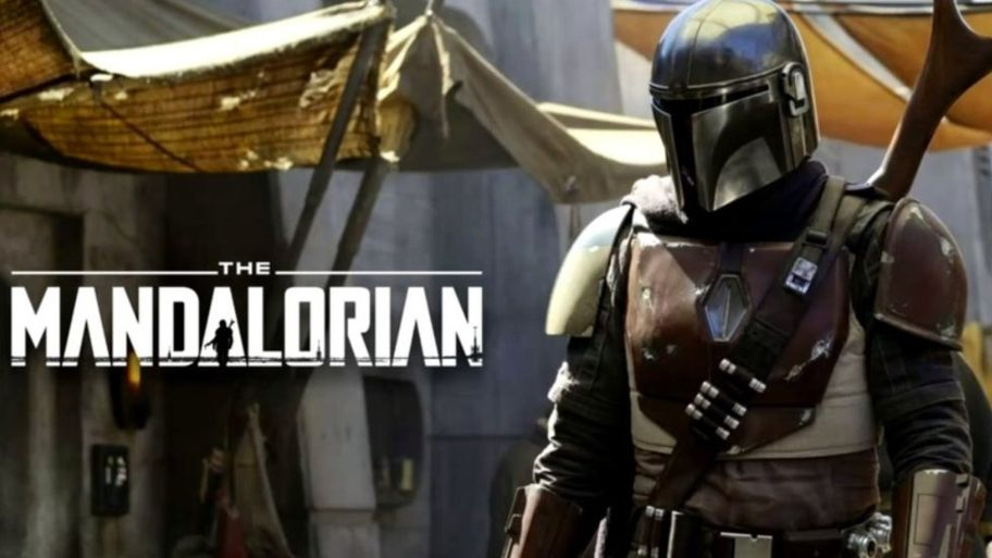 Title graphic from The Mandalorian.