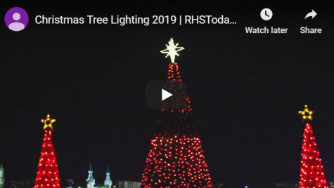 Video: Tampa's annual tree lighting