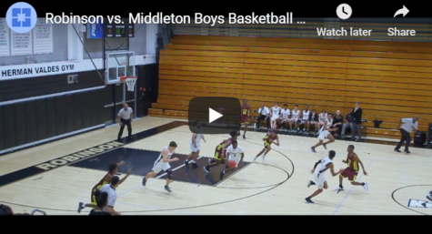 Video: Robinson vs. Middleton Basketball