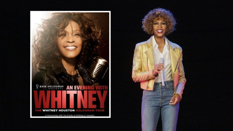 A+proposed+image+for+the+%22An+Evening+with+Whitney%22+hologram+tour.+