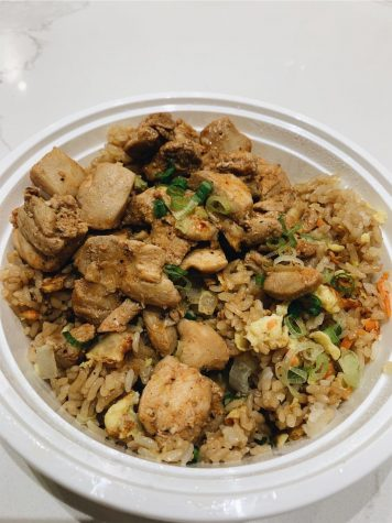 The Fried Rice 'n Shine bowl at Asian Kitchen.