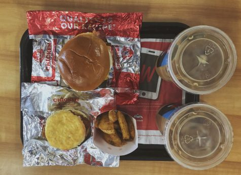 Some of Wendy's featured breakfast items