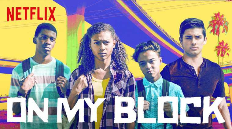 A promotional poster for the newest season of On My Block.