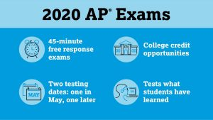 AP exams to be held online, IB exams cancelled