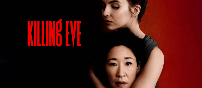 One of the promotional photos for Killing Eve.