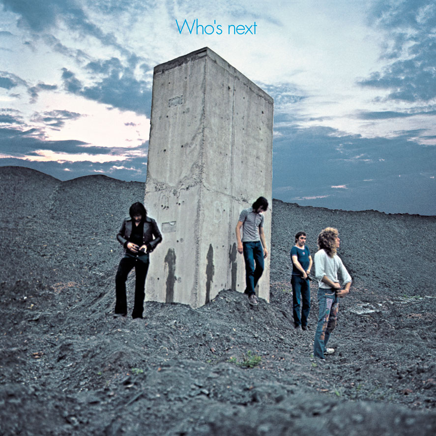 The album art for 1971's Who's Next by The Who.