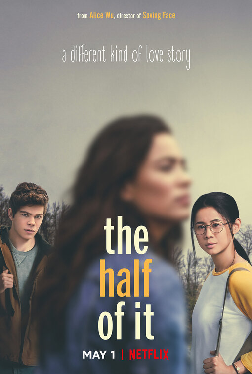 The movie poster for Netflix's new movie, The Half of It.