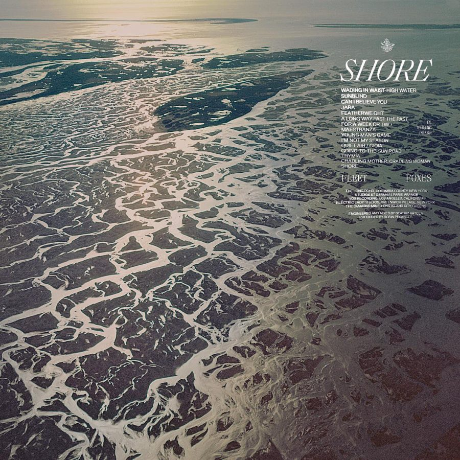 Fleet Foxes album cover for Shore, their most recent release.