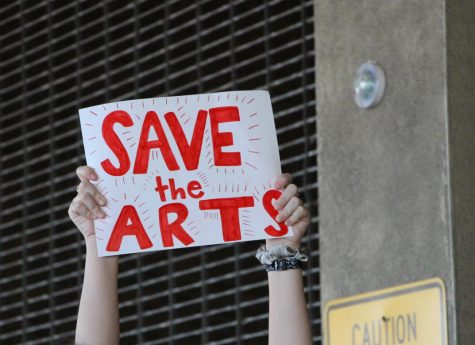 Photo Gallery: community advocates for the arts following HCPS budget cuts