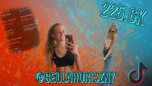 Bella Horiszny ('22) has become