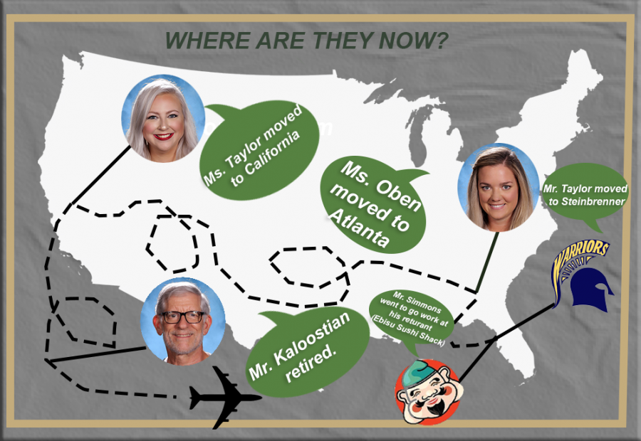 Robinson's former teachers: where are they now?