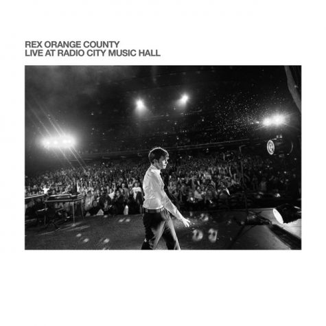 Rex Orange County releases a live album for his concert at Radio City Music Hall.