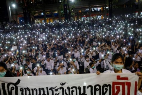 A pro-democracy protest held by Mahidol University students from earlier this year, is one of the acts that has sparked the progression of the democracy movement in Thailand today.