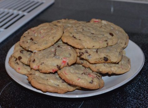 These peppermint chocolate chip cookies are easy to make and perfect for any holiday dessert fan.