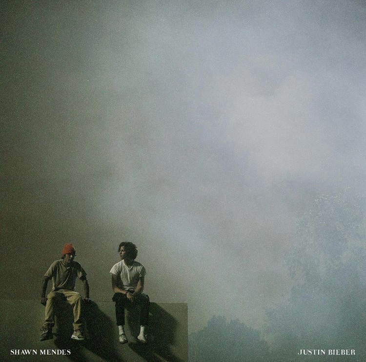 The single cover for Justin Bieber and Shawn Mendes