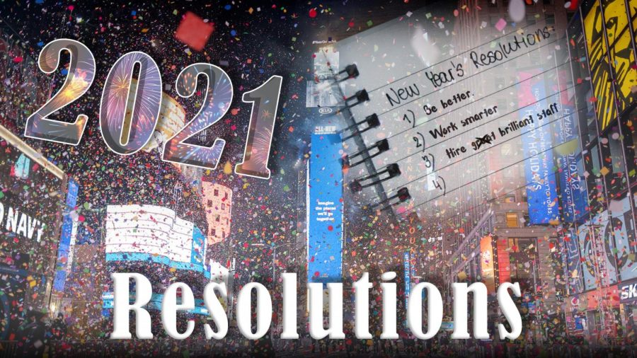 Robinson's 2021 New Year's resolutions