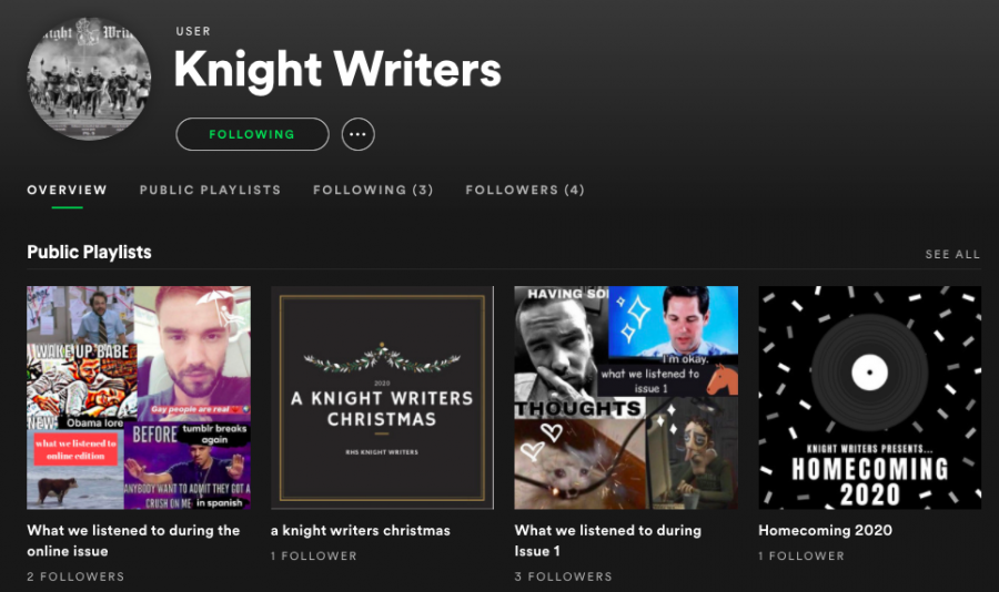 Quiz: Which Knight Writers Spotify playlist are you?