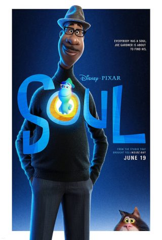 One of the posters for Soul, showing both Joe Gardner