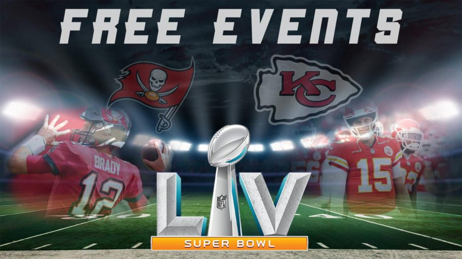 Tampa hosts free events to celebrate upcoming Super Bowl