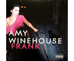 The album cover for Frank, Amy Winehouse