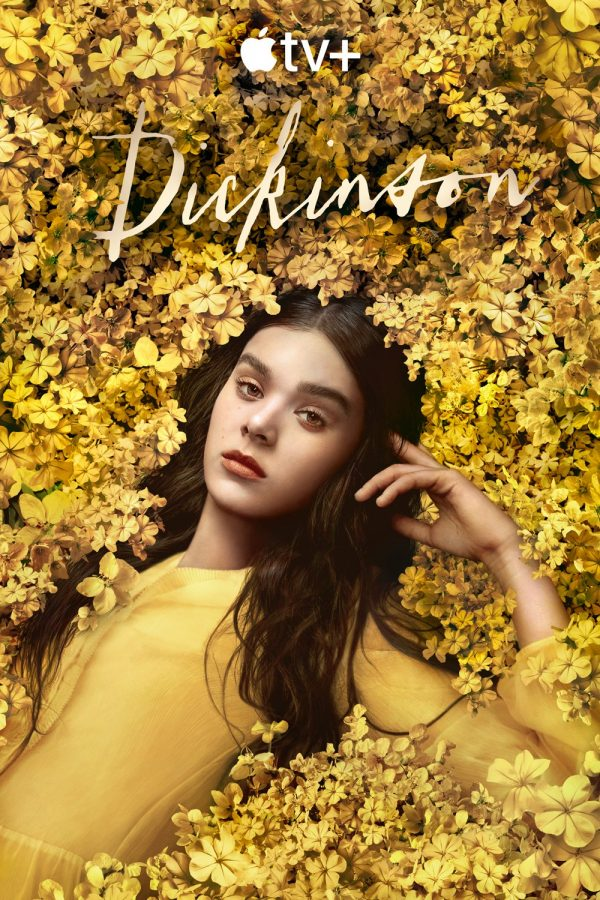 The poster for Dickinson season two, featuring Hailee Steinfeld as the titular character.