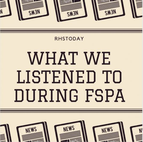 Playlist: What we listened to during FSPA