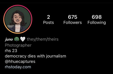 Screenshot of an Instagram profile displaying the new pronouns feature to include they/them/theirs pronouns. They/them pronouns are among the current list of available pronouns on the app with the new update.