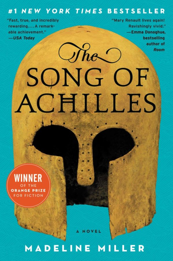 The Song of Achilles most recent paperback cover