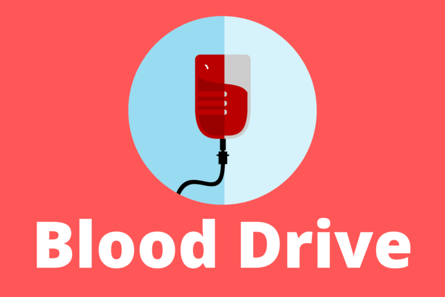 An illustration for the blood drive.